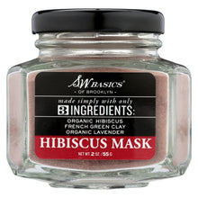 Load image into Gallery viewer, S.w. Basics - 3 Ingredients Hibiscus Mask - 2 Oz.