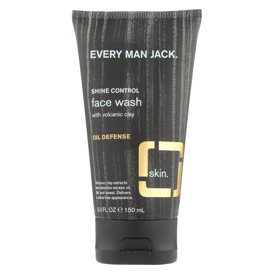 Every Man Jack Face Wash - Fragrance Free - 5 Fl Oz.