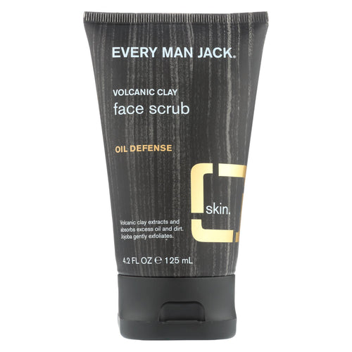Every Man Jack Face Scrub - Fragrance Free - 4.2 Fl Oz.