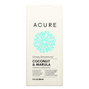 Acure - Shampoo - Simply Smoothing - 12 Fl Oz