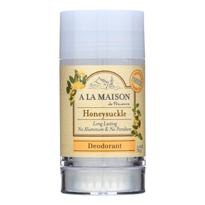 A La Maison - Deodorant - Honeysuckle - 2.4 Oz