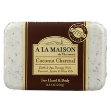 Load image into Gallery viewer, A La Maison - Bar Soap - Coconut Charcoal - 8.8 Oz