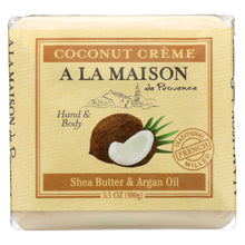 Load image into Gallery viewer, A La Maison - Bar Soap - Pure Coconut - Case Of 6 - 3.5 Oz