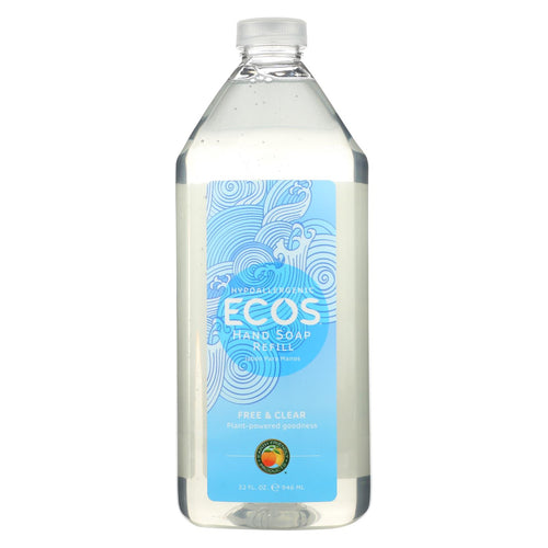 Ecos Hand Soap - Free And Clear - Case Of 6 - 32 Fl Oz.