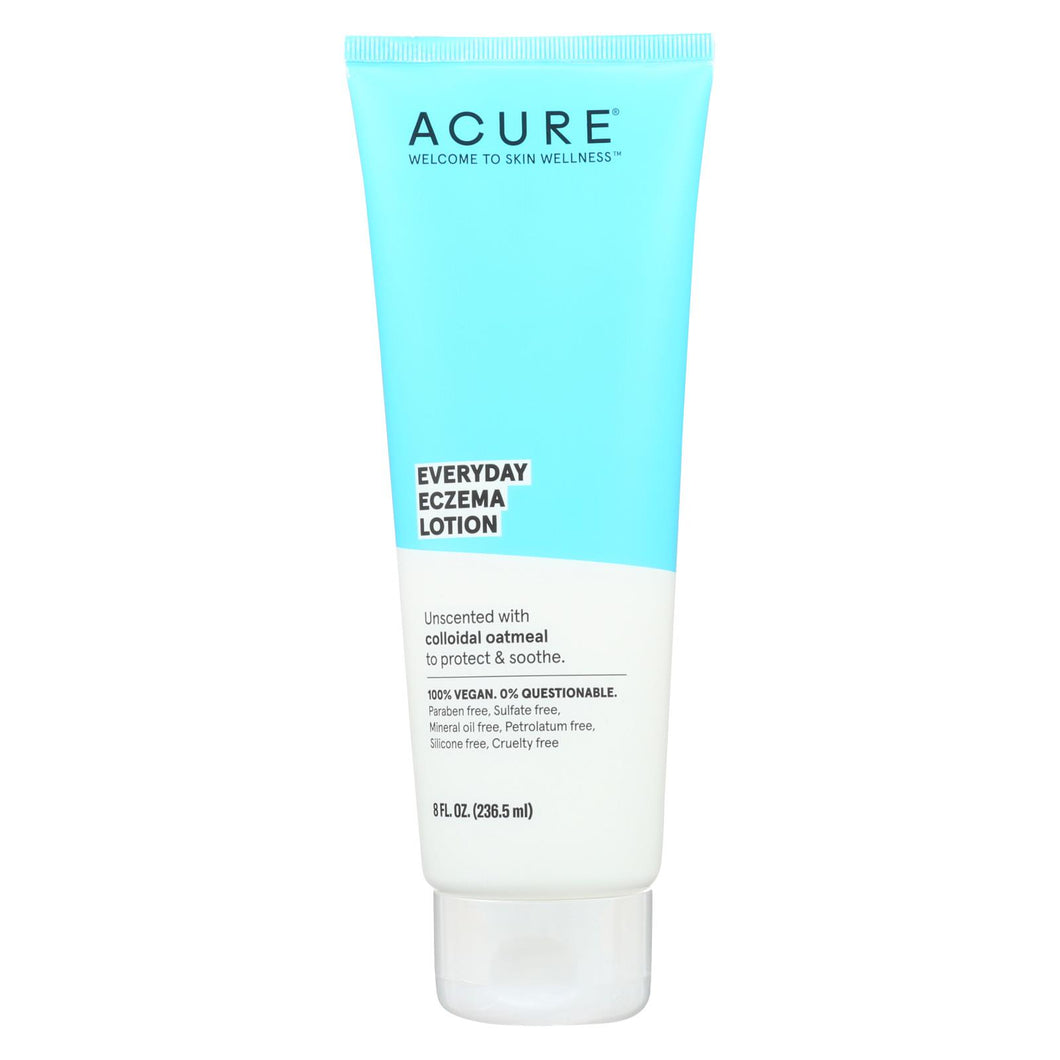 Acure - Lotion - Everyday Eczema - Unscented With Oatmeal - 8 Fl Oz.