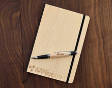 Load image into Gallery viewer, Classic Wood Design Notebook