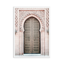 Load image into Gallery viewer, Boho Poster Desert Landscape Canvas Painting Door flower Print Decoration Wall Pictures for Living Room Moroccan Decor Unframed