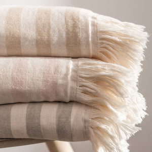 Organic cotton gauze terry fabric cloth towel blanket throw Bedspreads & Coverlets with tassel 150x200cm