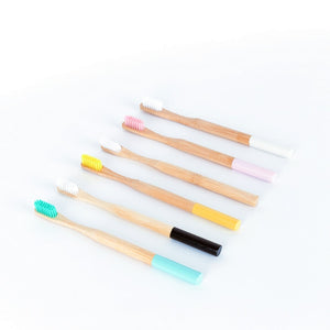 Bamboo toothbrush Zero waste Eco-Friendly Adult toothbrush Natural Biodegradable Bamboo Toothbrushes