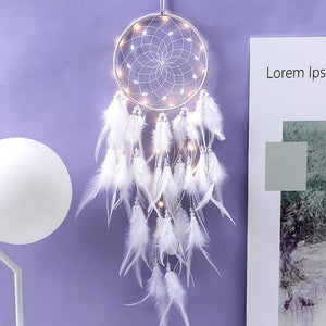 Girls Room Decor Dream Catcher Boho Feather Ornaments Bedroom Decoration Bells Dreamcatcher Birthday Party Gifts For Guests