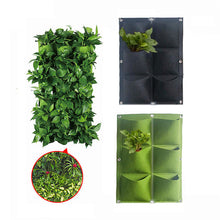 Load image into Gallery viewer, Garden Plant Wall Hanging Planting Bag 2/6 Pocket Planting Bag Planter Vertical Garden Vegetable Iife Garden Bag Household Goods