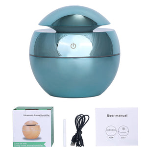 NEW USB Aroma Diffuser Mini Ultrasonic Air Humidifier Wood Grain Atomizer Aromatherapy Essential Oil Diffuser for Home Office