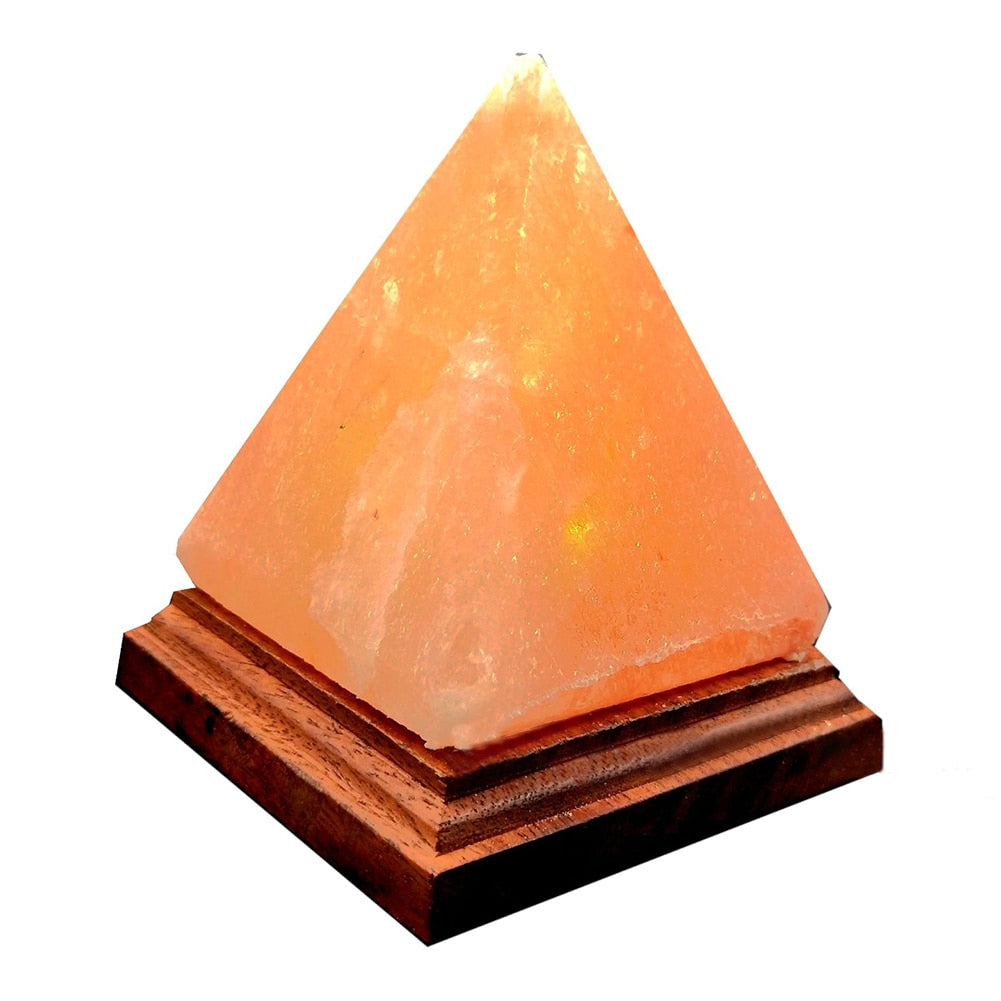 USB Charging Air Purifier Natural Lamp Color Changing Crystal Salt Night Light Led Rock Himalayan Ionic