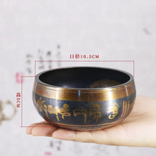 Load image into Gallery viewer, SDR Tibetan Bowl Singing Bowl Decorative-wall-dishes Home Decoration Decorative Wall Dishes Tibetan Singing Bowl