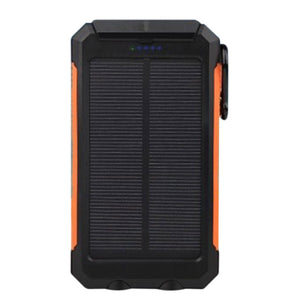 Solar Power Bank Battery Charger Multifunctional Supplies Lighting 10000 MAh Quick Charge Outdoor Emergency Charging
