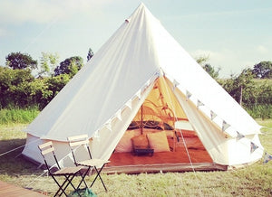 3M 4M 5M 6M cotton canvas bell tent,camping tent ,canvas tent,wedding tent