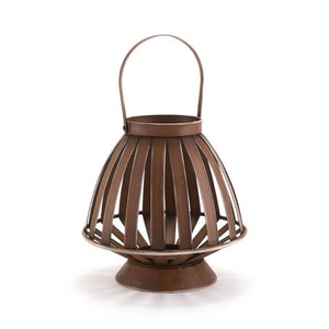 Zuo Bamboo Lantern Brown