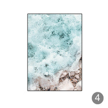 Load image into Gallery viewer, Nordi Beach Wall Art Posters Black and White Prints Ocean Wave Landscape Canvas Painting Decorative Pictures for Living Decor