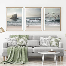 Load image into Gallery viewer, Ocean Wall Art in Beach Photography Canvas Posters Prints Sea Landscape Painting Pictures Home Wall Art Coastal Decor