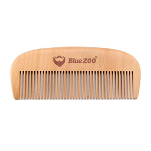 Blue Zoo Pocket Portable Natural Wood Pear Tree Comb Combs No Static Beard Comb Hair Styling Tool