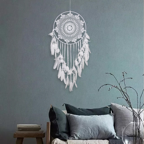 large dream catcher big kids room decoration girl nordic decoration home nordic style kids decoration wind chimes dreamcatcher