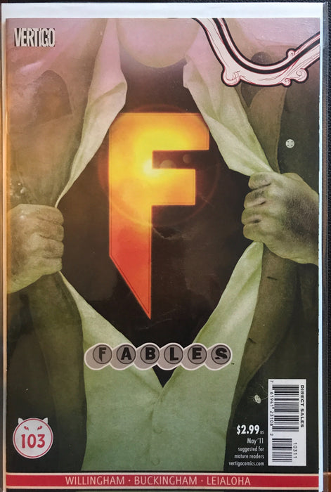Fables #103  NM (9.4)