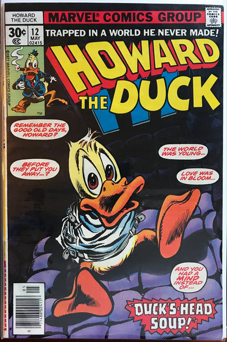 Howard the Duck # 12  VF/NM (9.0)