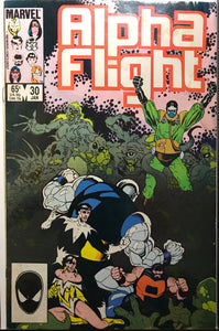 Alpha Flight # 30 VG+ (4.5)