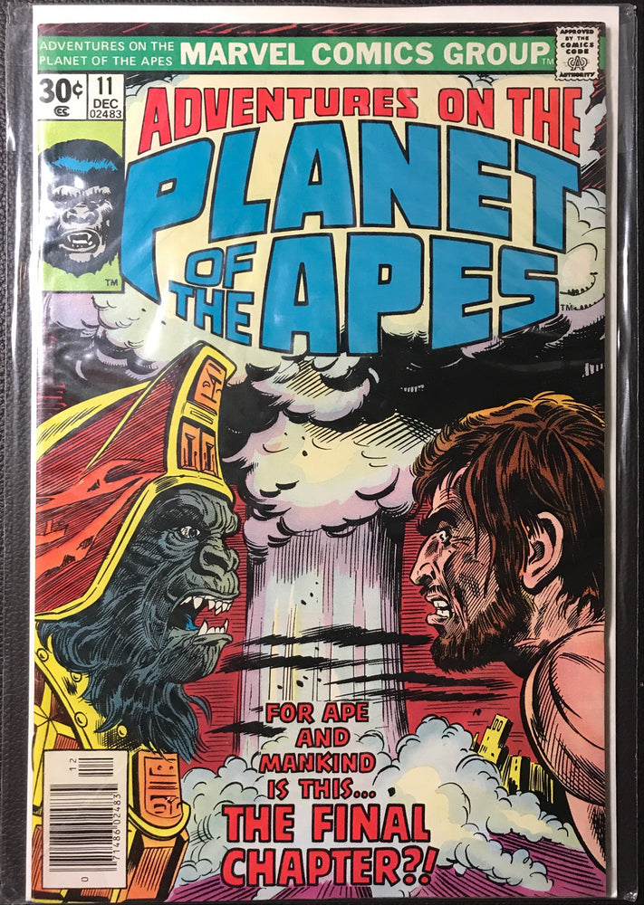 Adventures on the Planet of the Apes # 11 VF- (7.5)