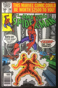 Amazing Spider-Man #208 Newsstand Variant VG/FN (5.0)