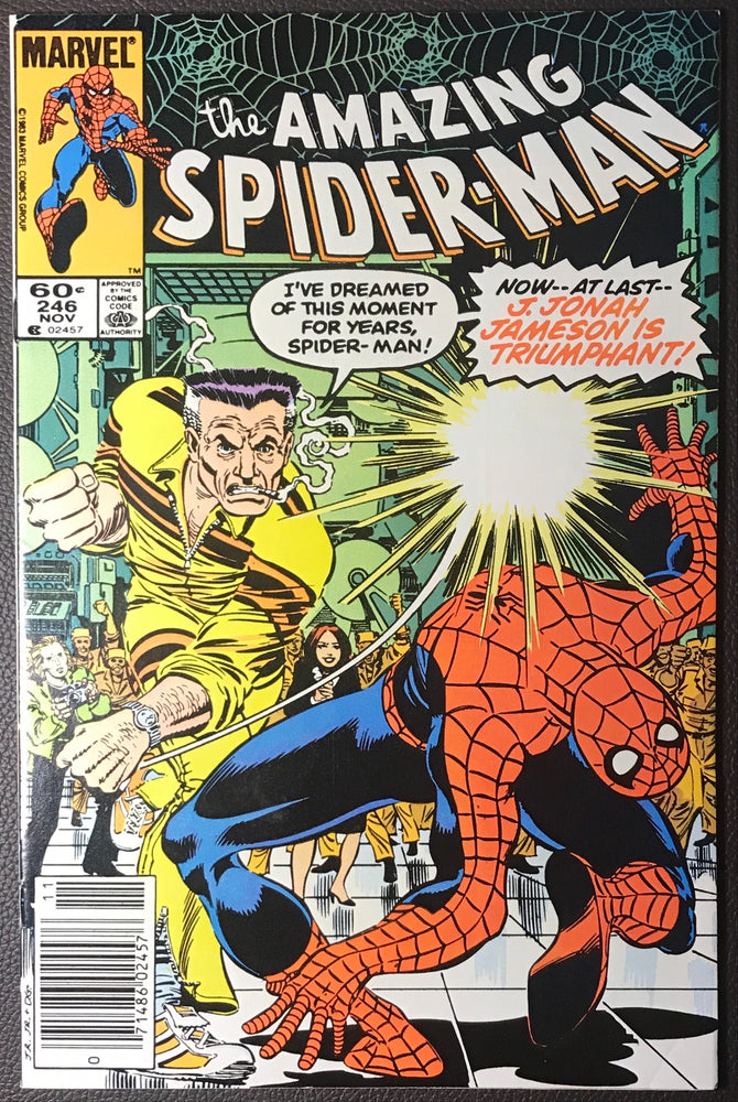 Amazing Spider-Man #246 Newsstand Variant FN/VF (7.0)