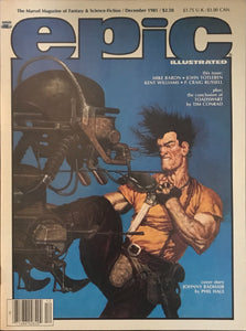 Epic Illustrated # 33 VF- (7.5)