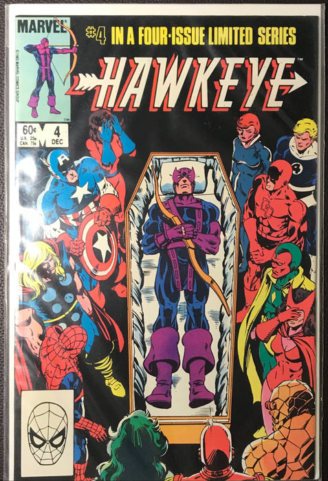 Hawkeye #1-4 VF/NM (9.0)