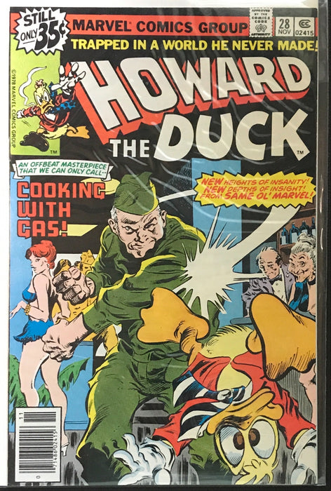 Howard the Duck # 28 NM (9.4)