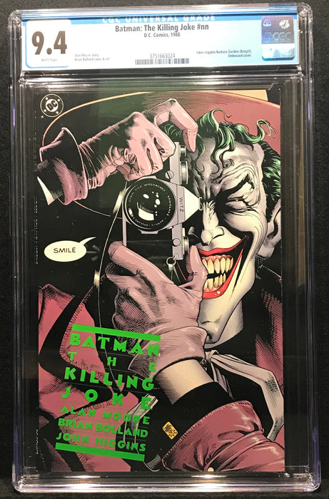 Batman: The Killing Joke First Printing CGC 9.4