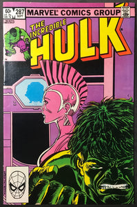 Incredible Hulk #287 Newsstand Variant FN/VF (7.0)