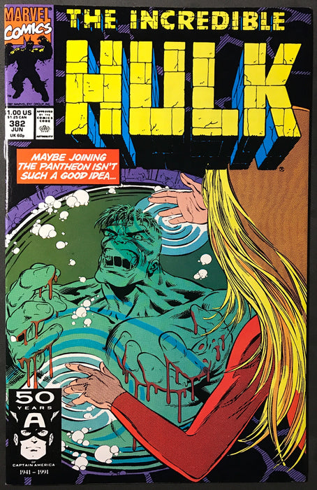 Incredible Hulk #382 NM (9.4)