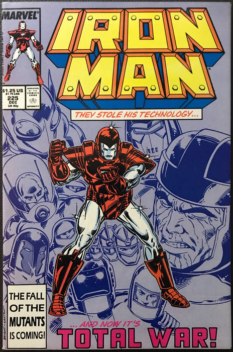Iron Man #225 VF/NM (9.0)