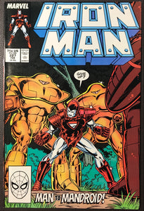 Iron Man #226 NM- (9.2)