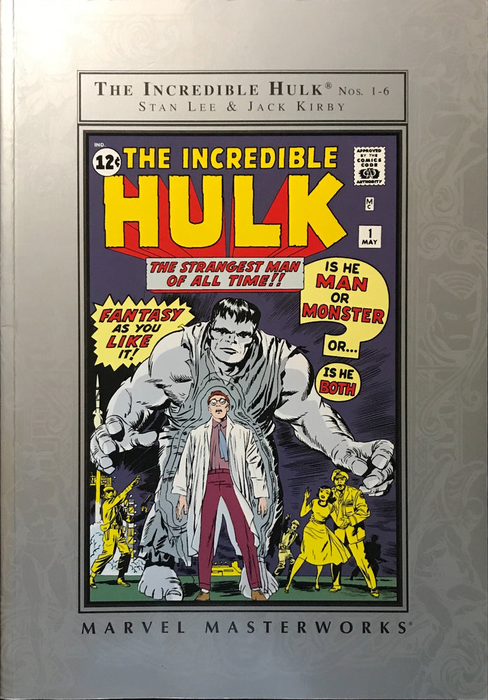 Marvel Masterworks: The Incredible Hulk Vol. 1 (Barnes & Noble Edition)