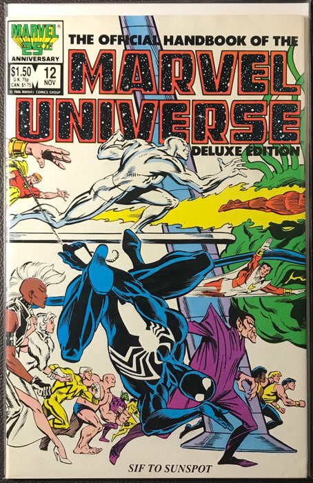 Marvel Universe, The Offical Handbook of the # 12 VF (8.0)