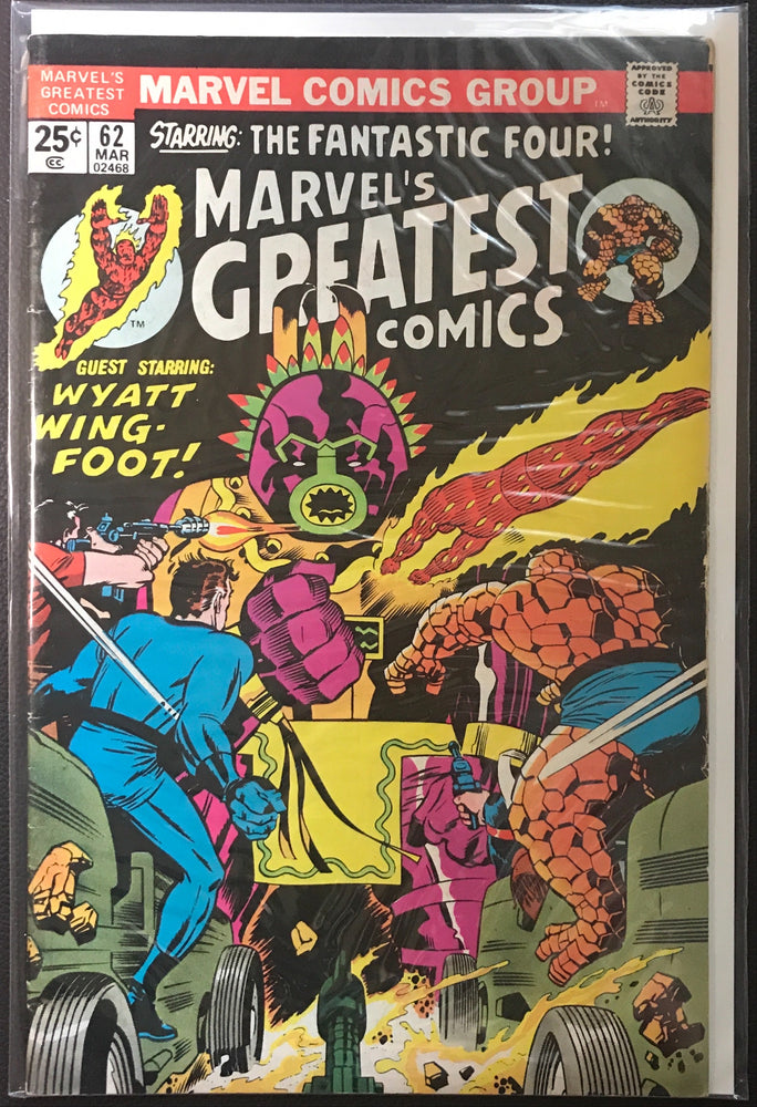 Marvel's Greatest Comics # 62 FN- (5.5)
