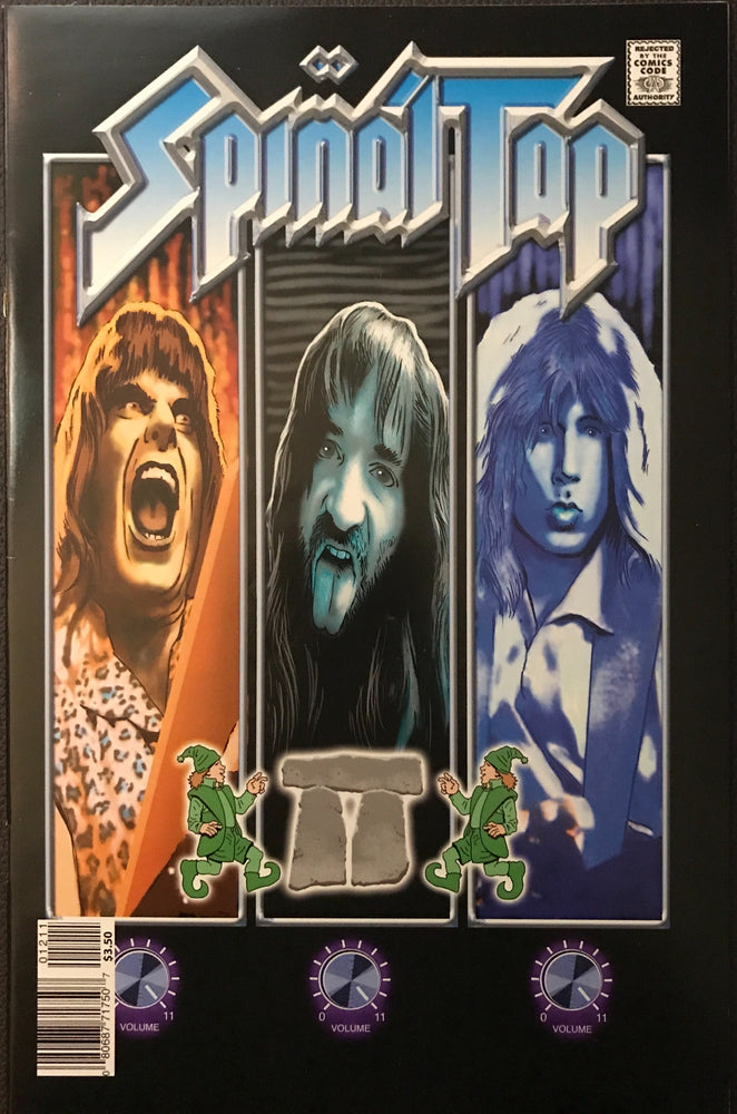 Rock and Roll Biography # 14: Spinal Tap NM/MT (9.8)
