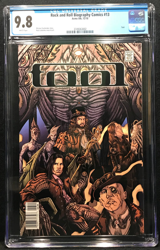Rock and Roll Biography Comics: Tool # 13 CGC 9.8