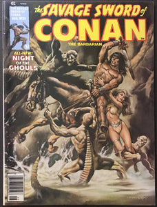 Savage Sword of Conan # 32 VF- (7.5)