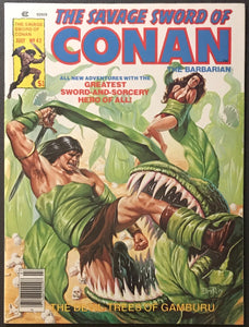Savage Sword of Conan # 42 NM- (9.2)