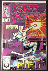 Silver Surfer # 24 (Vol. 2) NM (9.4)