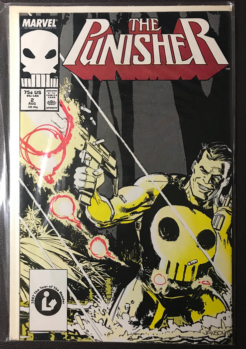 The Punisher #  2 VF+ (8.5)
