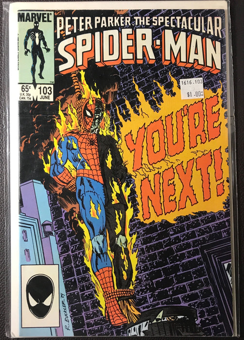 The Spectacular Spider-Man #103 VF (8.0)