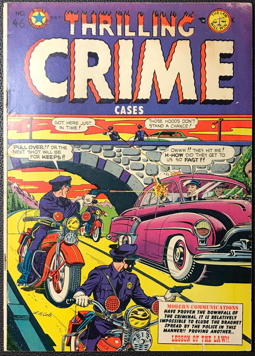 Thrilling Crime Cases # 46 FN- (5.5)
